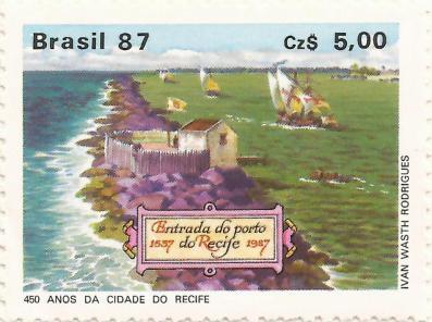 selo de 450 anos do Recife